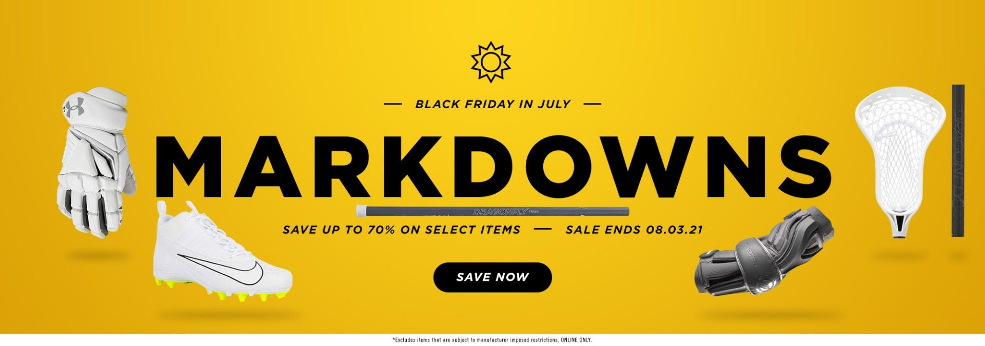 Score big savings during our Black Friday in July event