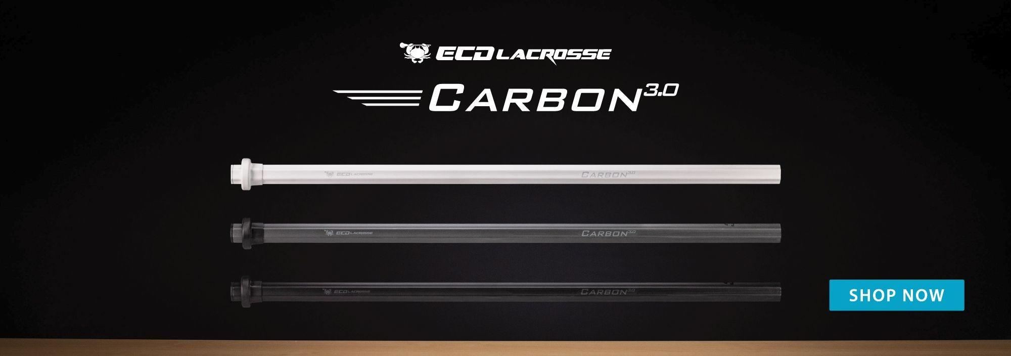 ECD Carbon 3.0 Lacrosse Shafts