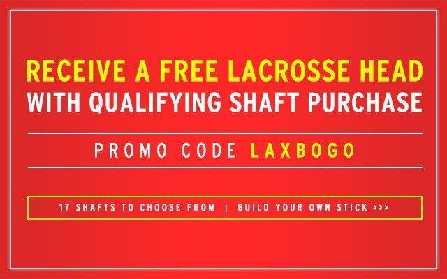 Free Lacrosse Head Promo