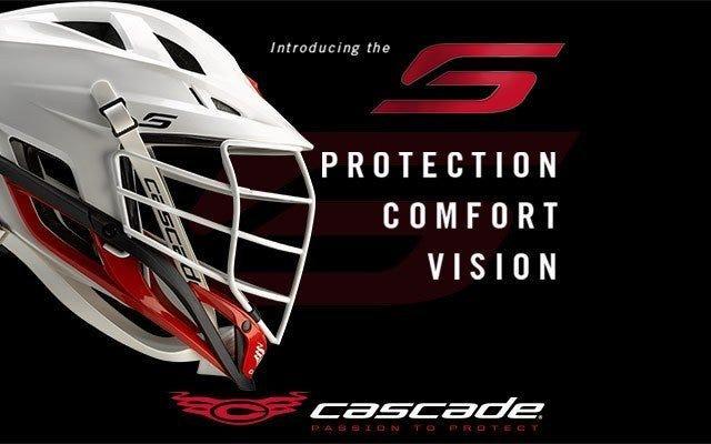 Cascade S Custom Lacrosse Helmet