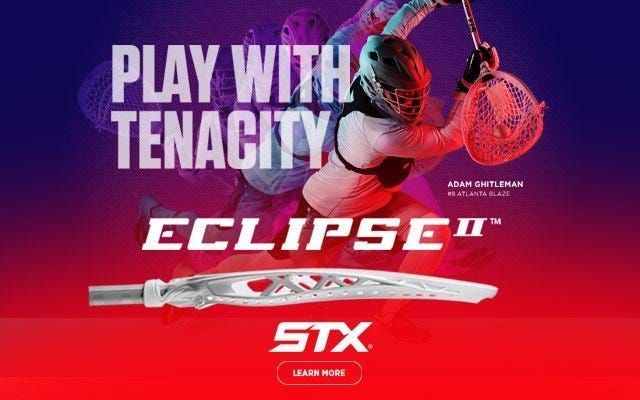 STX Eclipse II Complete Lacrosse Goalie Stick