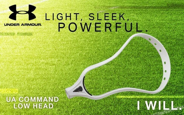 Under Armour Command Low Unstrung Lacrosse Head