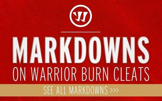 Warrior Burn Cleat Markdowns