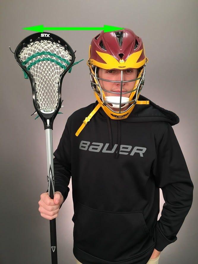 perfect defense lacrosse stick length
